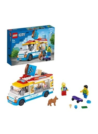 Lego 60253 Lego® City Dondurma Arabası  /200 Parça / +5 Yaş Renkli